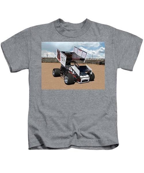 Dirt Track Racer Kids T-Shirt