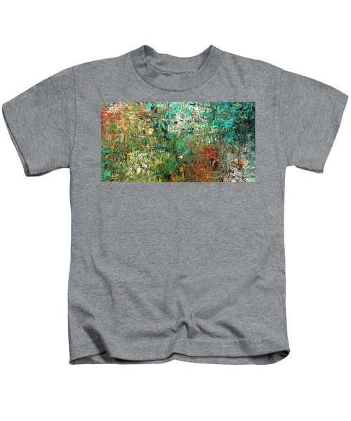 Discovery - Abstract Art Kids T-Shirt
