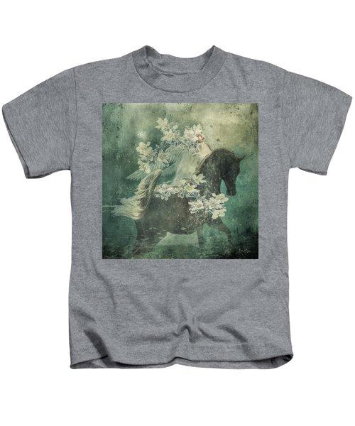 Divine Horse Whisperer Kids T-Shirt