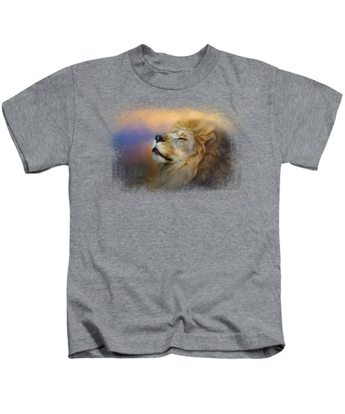 Do Lions Go To Heaven? Kids T-Shirt by Jai Johnson