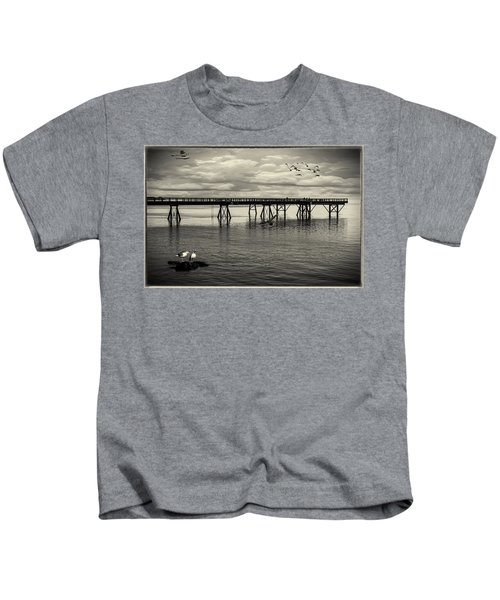 Dock On The Sea Kids T-Shirt