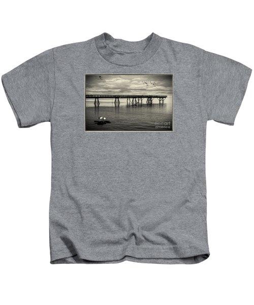 Dock On The Sea Kids T-Shirt