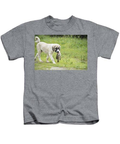 Dog Gone Fishing Kids T-Shirt