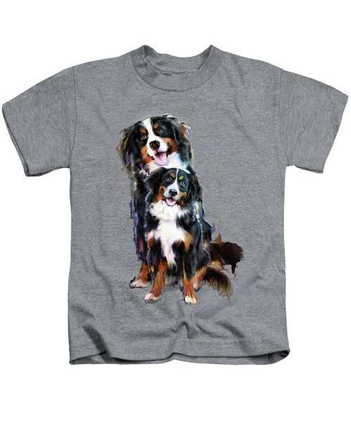 Dog Family Kids T-Shirt