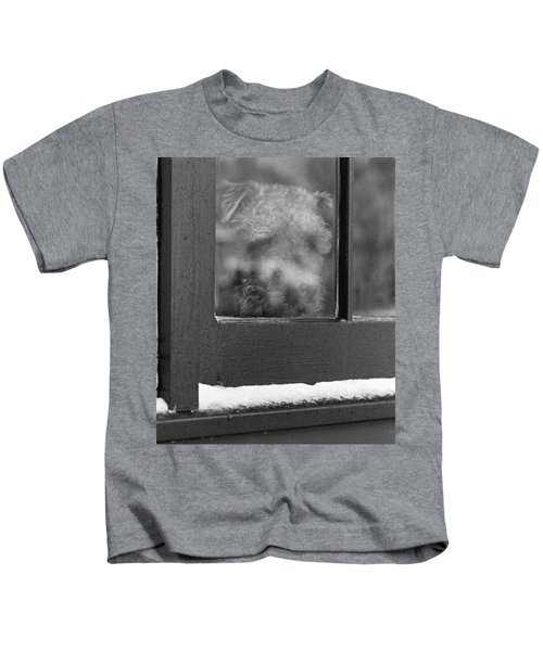 Doggy In The Window Kids T-Shirt