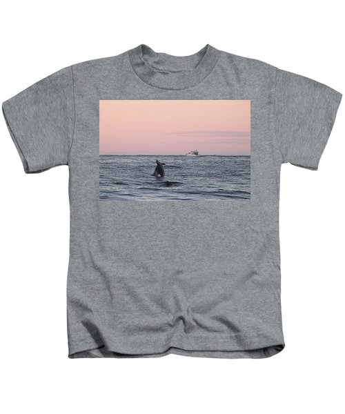 Dolphins At Play Kids T-Shirt