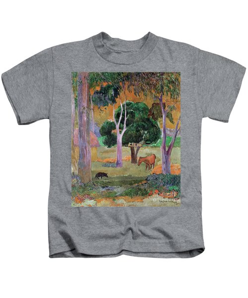 Dominican Landscape Kids T-Shirt