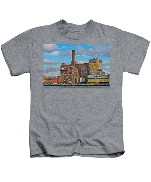 Domino Sugar Water View Kids T-Shirt