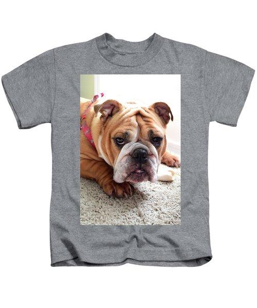 Don't Touch My Bone Kids T-Shirt