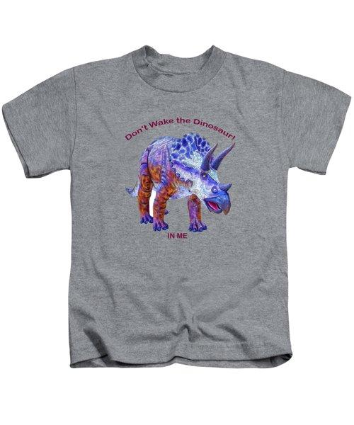 Dont Wake The Dinosaur Kids T-Shirt