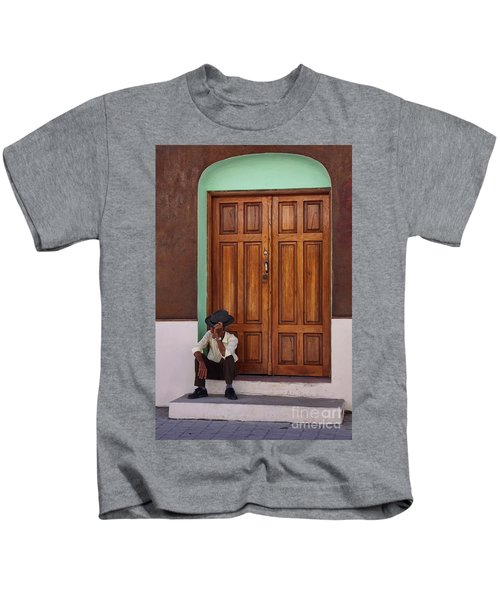 Door In Guatemala Kids T-Shirt