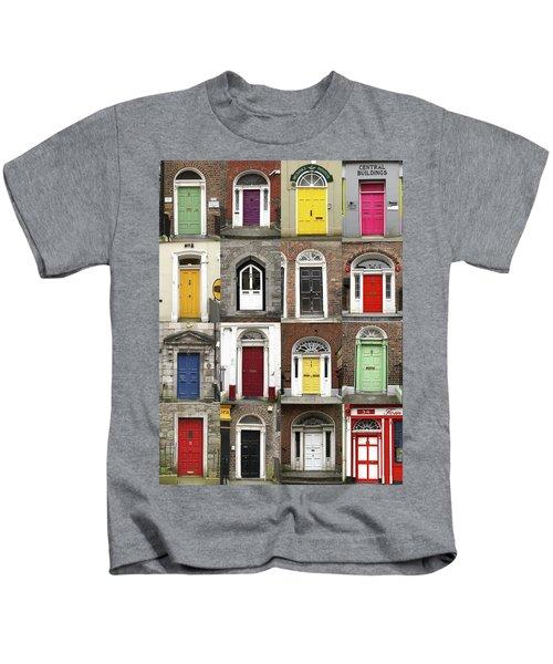 Doors Of Limerick Kids T-Shirt