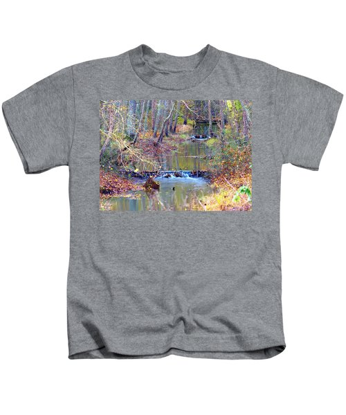 Double Falls Kids T-Shirt