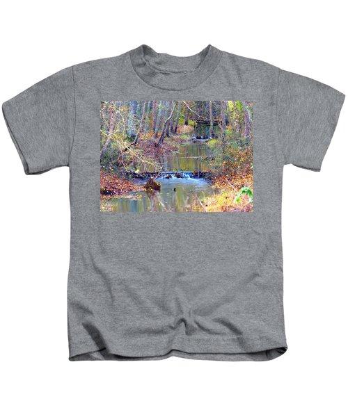 Double Falls Kids T-Shirt
