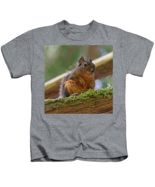 Douglas Squirrel Kids T-Shirt