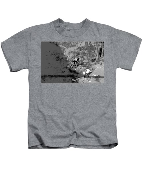 Down By The Old Mill Stream Kids T-Shirt