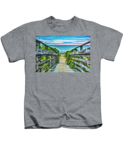 Down To The Beach Kids T-Shirt