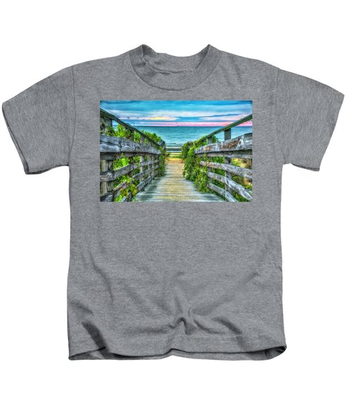 Down To The Beach Kids T-Shirt