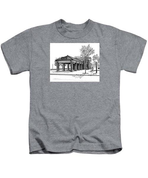 Downers Grove Main Street Train Station Kids T-Shirt