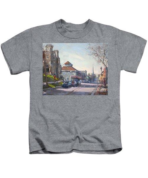 Downtown Georgetown On Kids T-Shirt