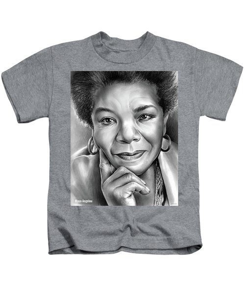 Dr Maya Angelou Kids T-Shirt