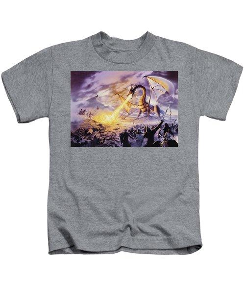 Dragon Battle Kids T-Shirt