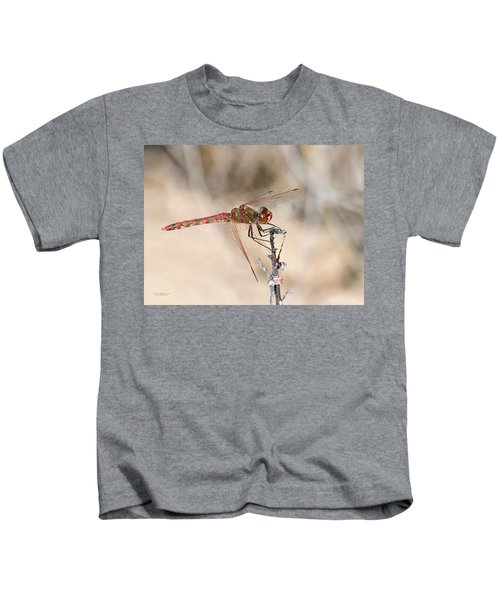 Dragonfly Resting Kids T-Shirt