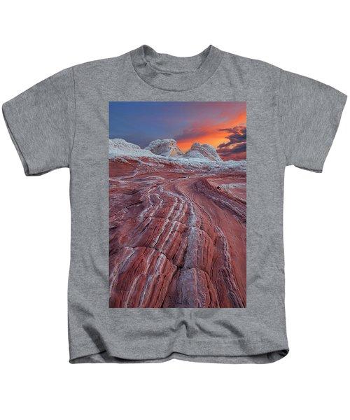 Dragons Tail Sunrise Kids T-Shirt