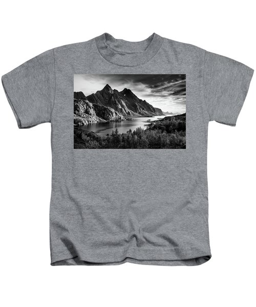 Dramatic Lofoten Kids T-Shirt