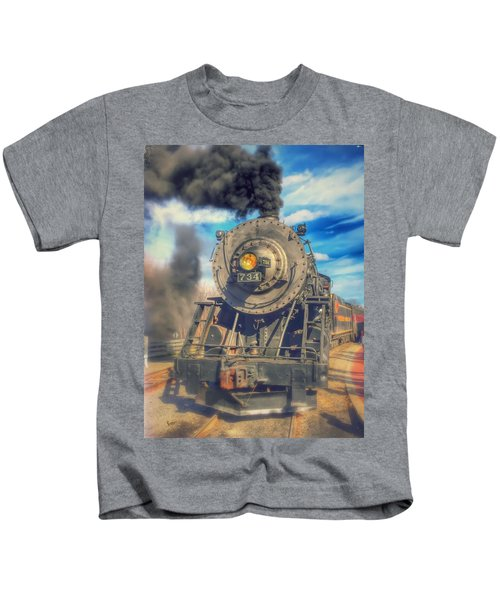Kids T-Shirt featuring the photograph Dream Engine by Chris Montcalmo