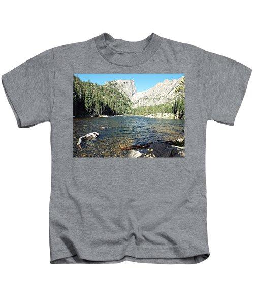 Dream Lake - Rocky Mountain National Park Kids T-Shirt