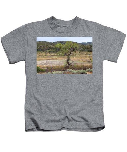 Dried Elizabeth Lake Kids T-Shirt