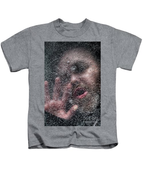 Drowning Man Under A Frozen Lake Kids T-Shirt