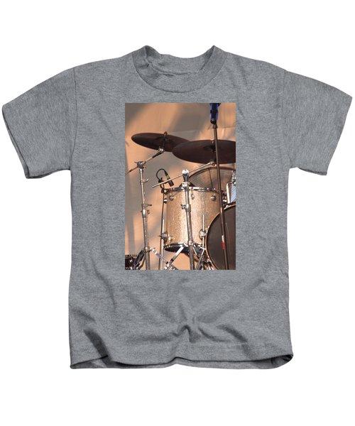 Drum Set Kids T-Shirt