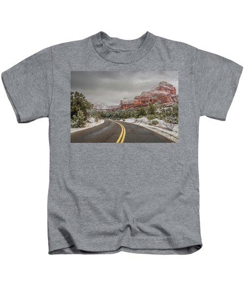 Boynton Canyon Road Kids T-Shirt