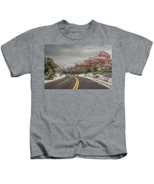 Boynton Canyon Road Kids T-Shirt