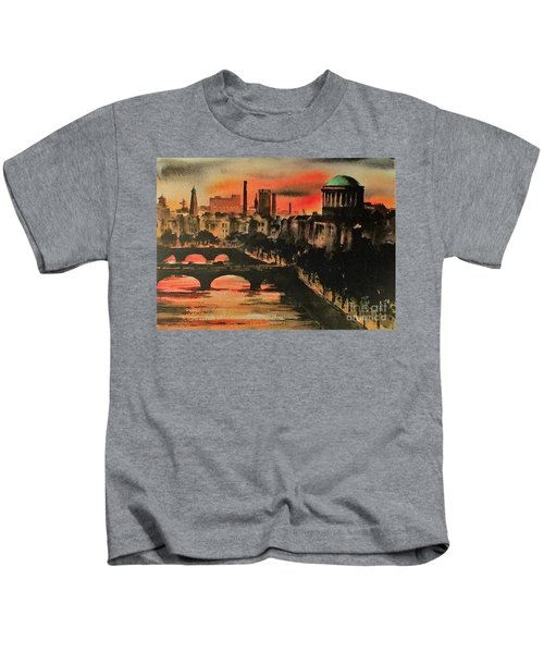 Dublin Sunset Kids T-Shirt