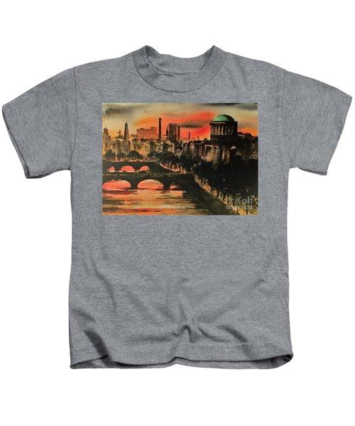 Dublin Sunset Kids T-Shirt