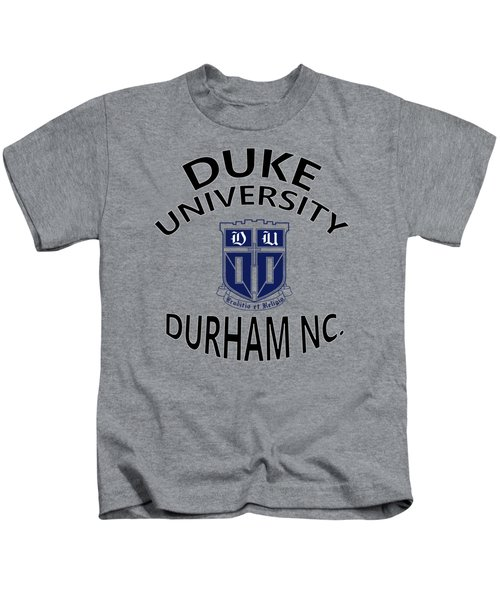 Duke University Durham Nc Kids T-Shirt