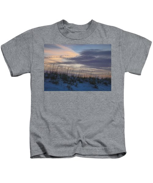 Dune Grass Blue Kids T-Shirt