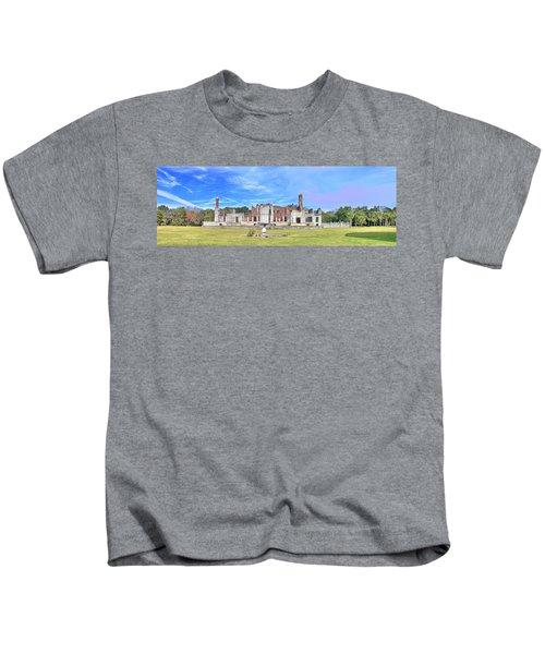 Dungeness Ruins Kids T-Shirt