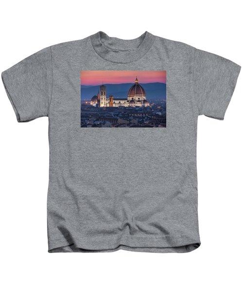 Duomo Di Firenze Kids T-Shirt