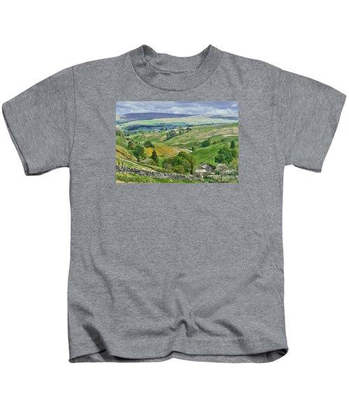 Durham Dales Countryside - Weardale Kids T-Shirt