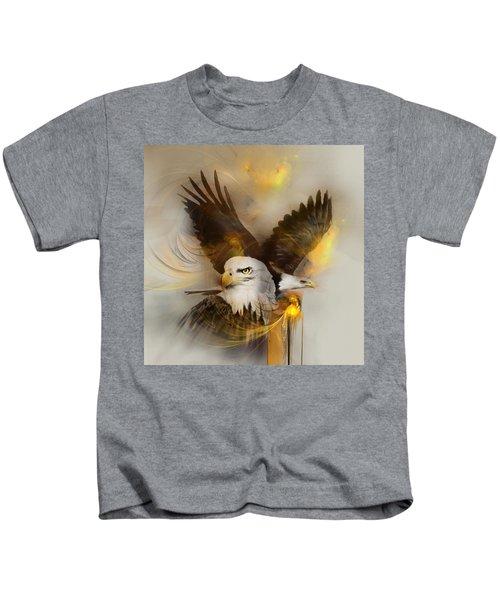 Eagle Pair Kids T-Shirt