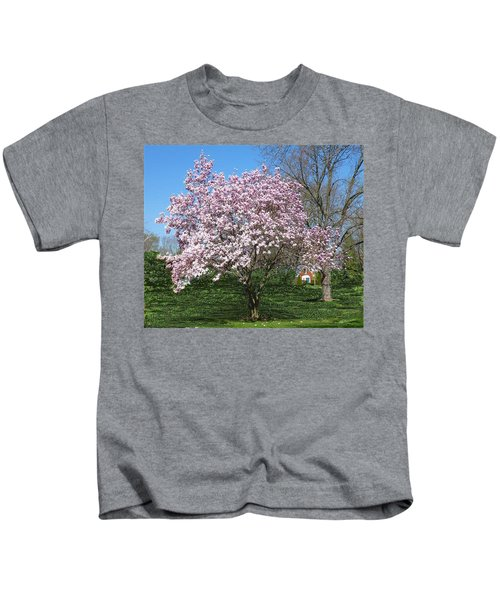 Early Blooms Kids T-Shirt