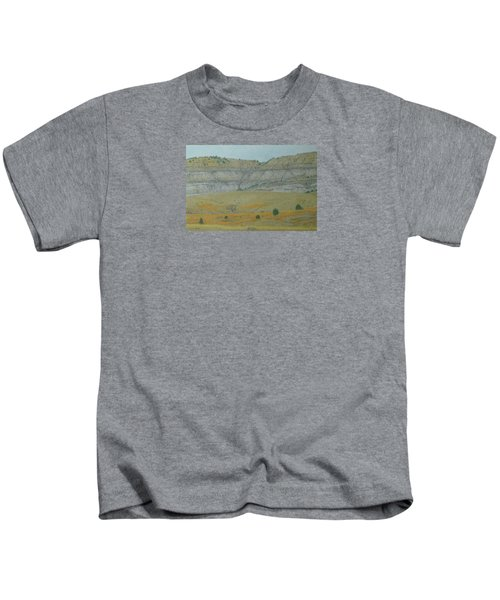 Early May On The Western Edge Kids T-Shirt
