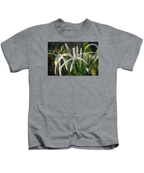 Early Morning Lily Kids T-Shirt