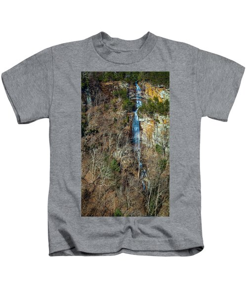 Early  Spring Waterfall  Kids T-Shirt