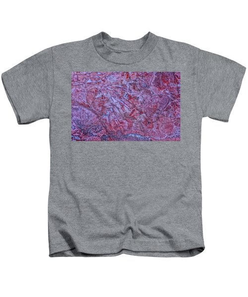 Earth Portrait 257 Kids T-Shirt