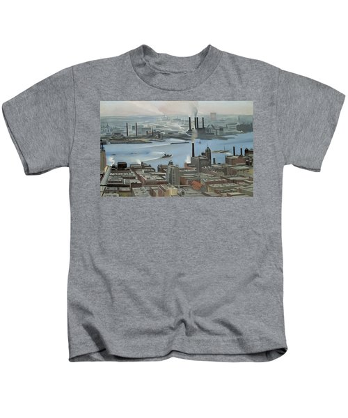 East River From Shelton Hotel Kids T-Shirt